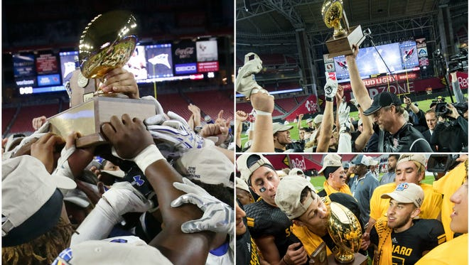Chandler, Williams Field and Saguaro won the top three conference football crowns in 2016.