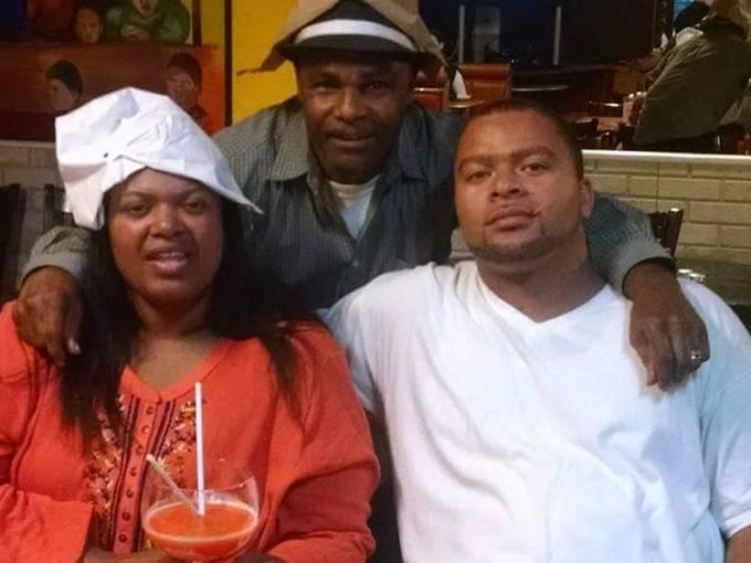 Mother, Earnestine Havvard (left); father, Clarence