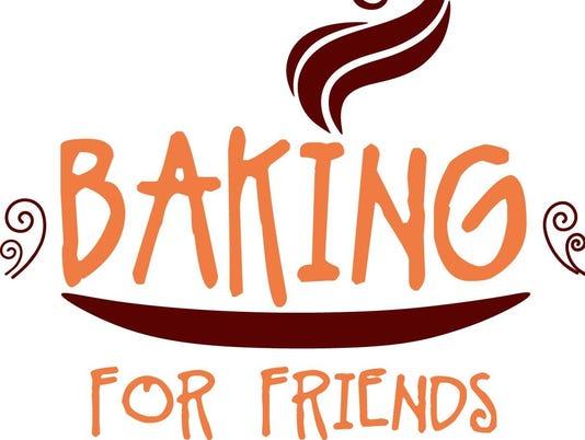 Baking for Friends orange logo