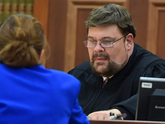 Waupaca County Circuit Court Judge Raymond Huber is