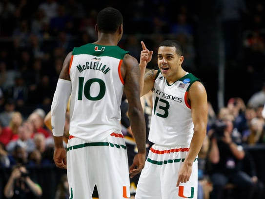 Villanova could have its hands fll with Miami guards