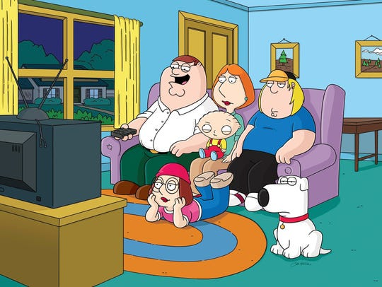 """""""Family Guy"""" handles the collision of the American"""