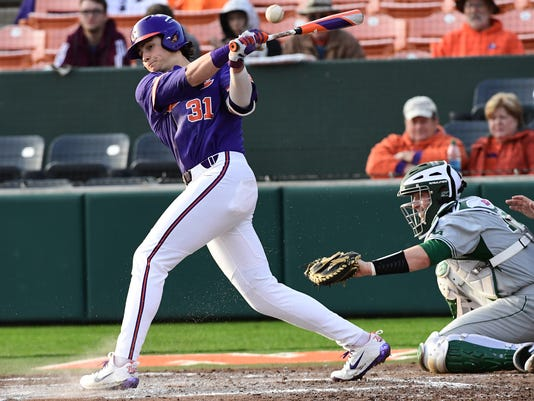 Clemson vs William and Mary Baseball