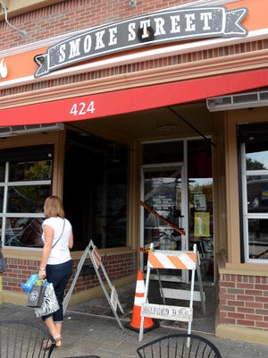 The popular Smoke Street BBQ, located at 424 North Main Street in downtown Milford, remains closed after a construction mishap Friday at a neighboring business rendered the building unsafe. Owners expect the restaurant will remain closed, pending repairs, for about a month.