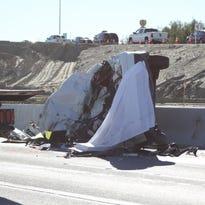Fatal crash shuts down eastbound I-10 at Jefferson indefinitely.