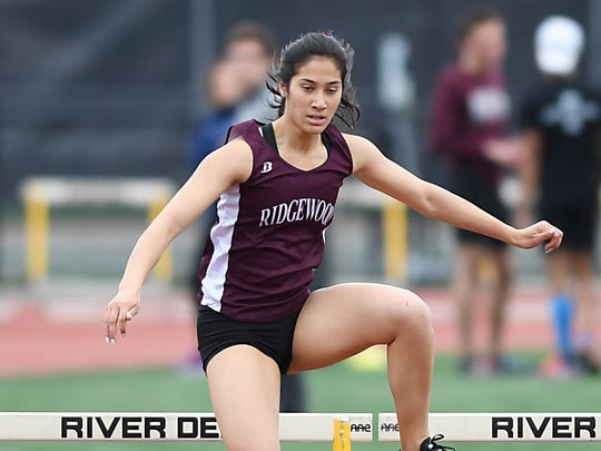 Katherine Muccio of Ridgewood, has an impressive showing at the Spiked Shoe Holiday Festival on Tuesday, Dec. 19, 2017.