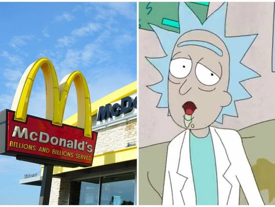 McDonald's is responding to 'Rick and Morty' fans asking