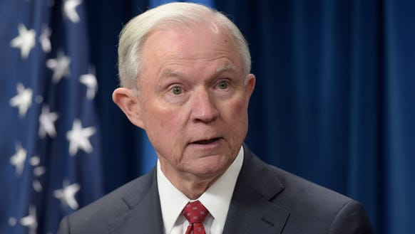 Last week, Attorney General Jeff Sessions announced