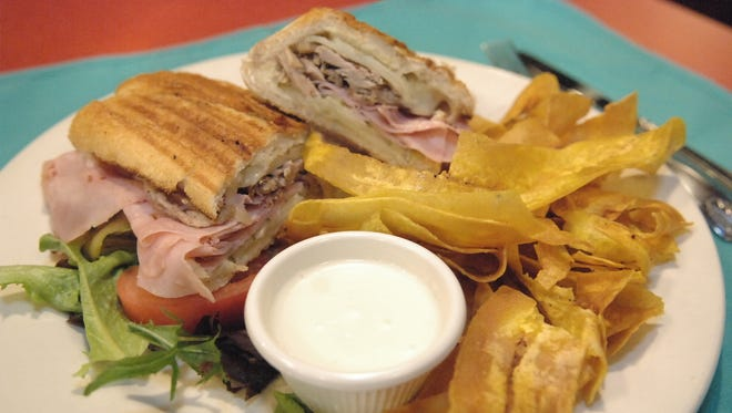 A traditional Cuban sandwich at Chiky Boom in Red Bank.