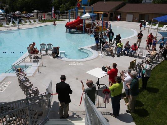 Kaiser Pool reopening