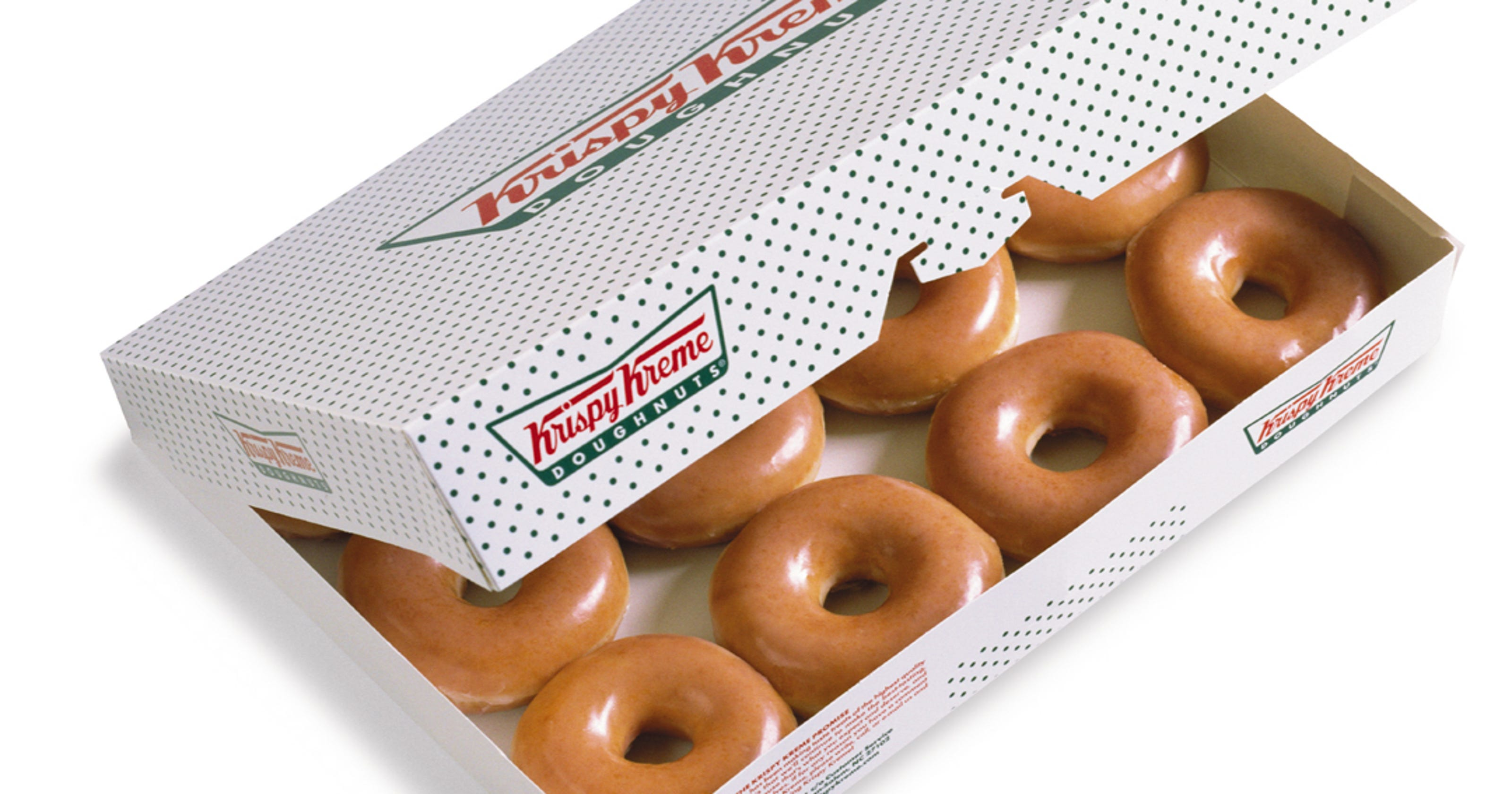 krispy kreme offers buy a dozen get a dozen for 1 on july 27 - Krispy Kreme Christmas Hours