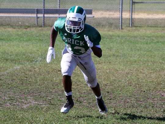 Ja'Sir Taylor will be a key player for Brick Friday night when the Green Dragons host Toms River North.