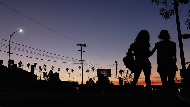 """A scene from the film """"Tangerine,"""" directed by Sean Baker."""