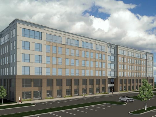 Community Health Systems' six-story, 240,000-square-foot