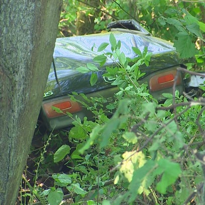 Four teenagers were riding in this vehicle, which went