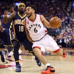 Pacers say it will take a team effort to defend Raptors
