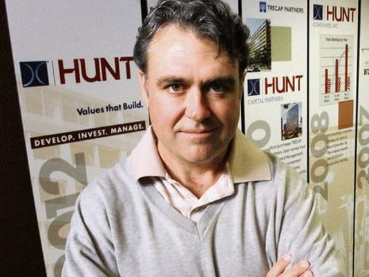 HUNT CEO Chris Hunt