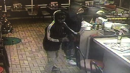 Anyone with information on the pictured suspects is asked to call 864-271-5333 or 864-23-CRIME.