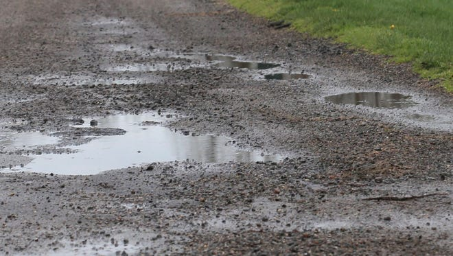 Virginia Lane is one of the streets that is scheduled this summer to be repaved in Madison Township.