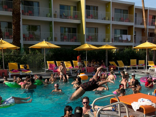 Splash House Pool Party at The Saguaro