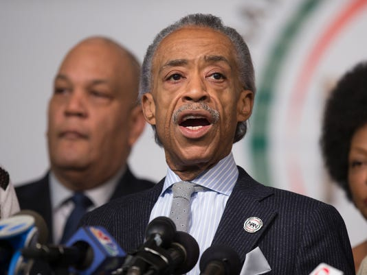 Al Sharpton, Family Of Eric Garner Denounce Killing Of 2 NYPD Officers