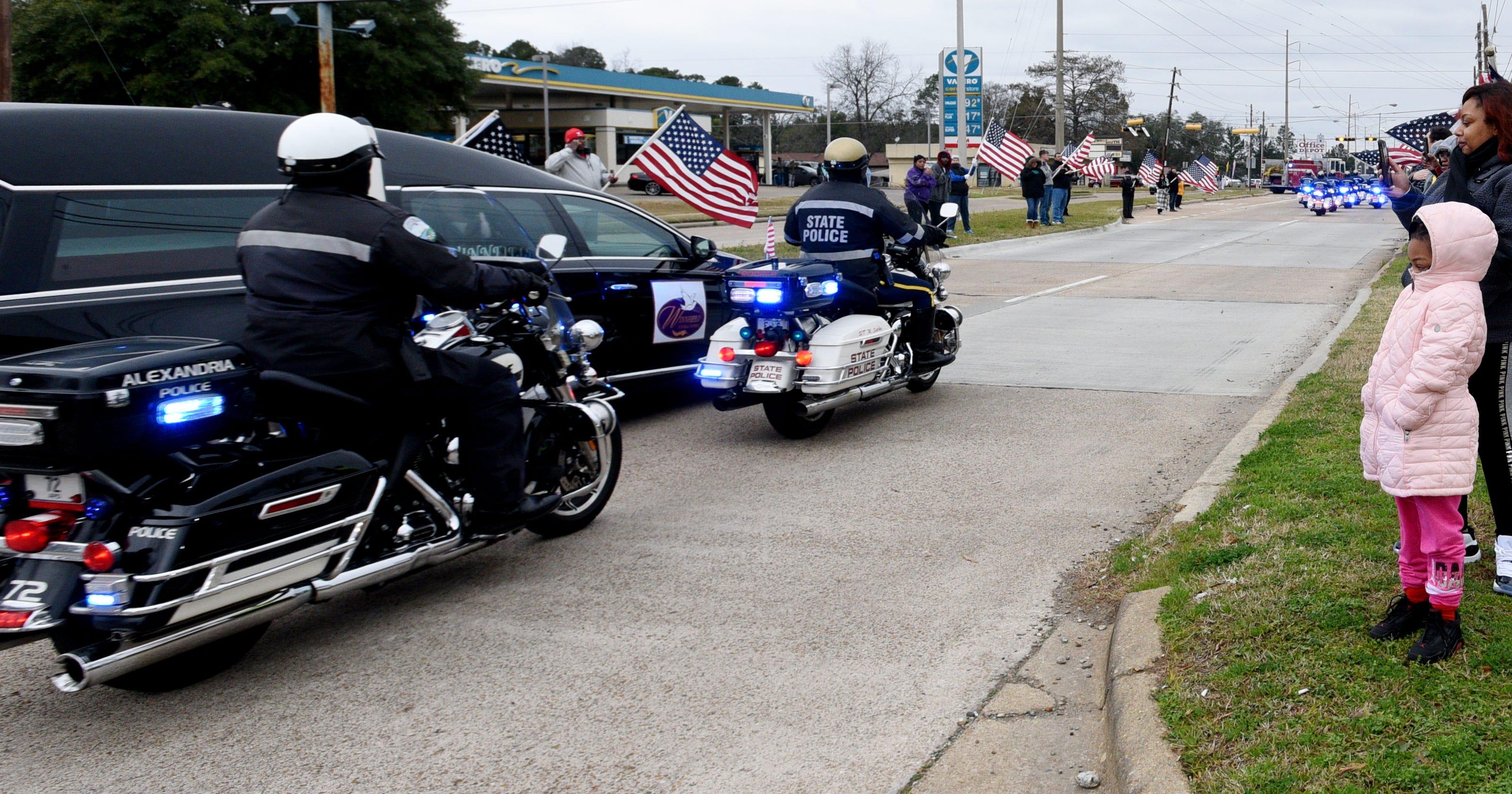 Shreveport Officer Chatéri Payne is laid to rest in solemn