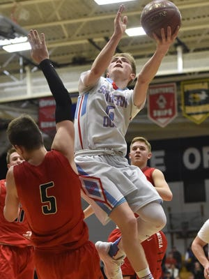 Southern Door's Kyle Daoust was named the Packerland Conference boys basketball Player of the Year.