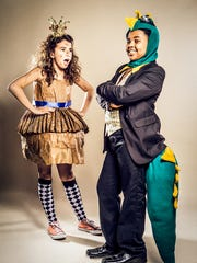"Daisy Urbanowicz and Jalen Walker in ""The Paper Bag"