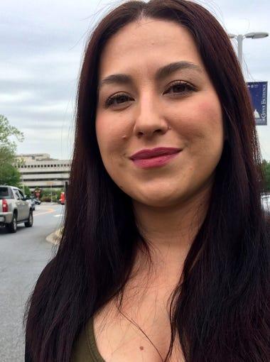 Stacy Garnett, 38, Washington, D.C., Army. Garnett