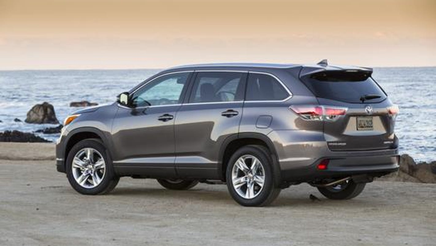 Car Review Toyota Highlander Limited Platinum Crossover Suv