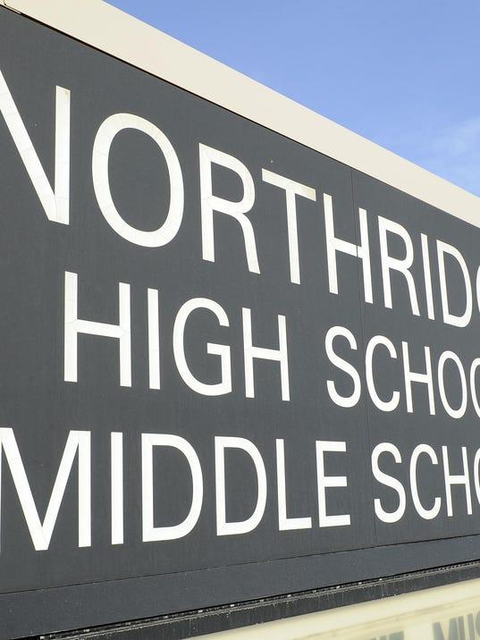 NEW Northridge High School stock