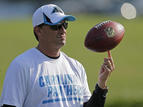 Mike Shula is the new offensive coordinator and quarterbacks coach of the New York Giants.