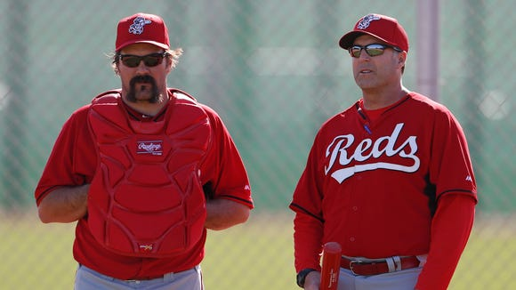 Former Reds catcher Corky Miller will serve on the