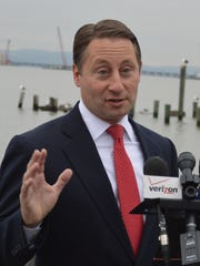 After a bruising gubernatorial campaign, Westchester County Executive Rob Astorino wants Gov. Cuomo to propose $2 billion for the Tappan Zee project from the state's bank settlement monies.