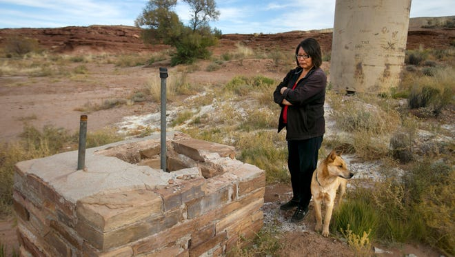 Linda Begay used the at Box Spring, near Black Falls on a remote part of the Navajo Nation, as her primary drinking source until the Environment Protection Agency designated it contaminated with uranium five years ago. Her grandmother died in the 1980s of stomach cancer. Her dad has skin lesions that are flaky and sometimes gooey. Her mom has suffered colon cancer, and had a 2-inch piece of intestine removed.