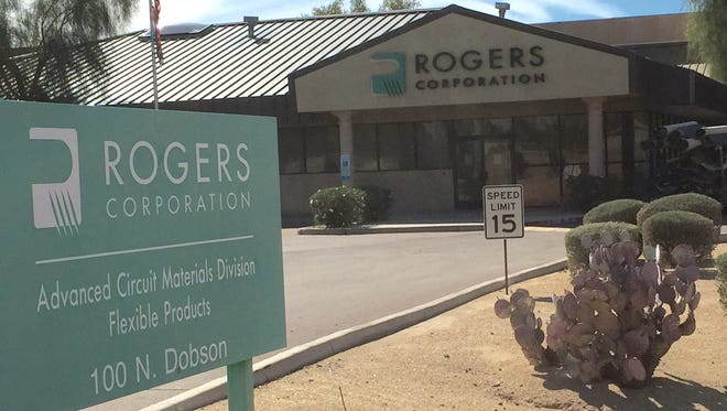 Rogers Corp., which makes circuit boards at its plant in Chandler, will move its corporate headquarters to the city and expand its manufacturing operation.