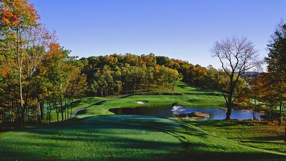 Centennial Golf Club in Carmel is a Larry Nelson design