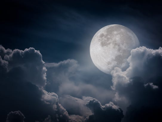 A full moon might help your evening walk.