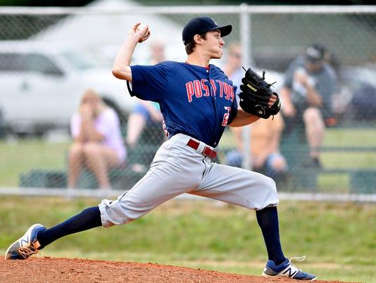 Dover vs Pleasureville American Legion baseball playoff