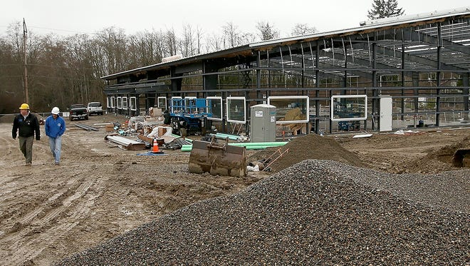A new St. Vincent de Paul thrift store is being built on Bethel Avenue in Port Orchard. A lease extension will allow St. Vincent to remain in its current building on Bay Street through March or April.
