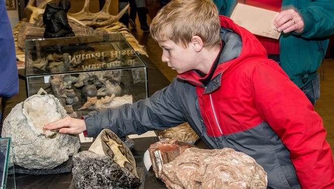 Get up close and personal with UW-Stevens Point's numerous museum collections at the annual Collection Crawl, Saturday, April 8.