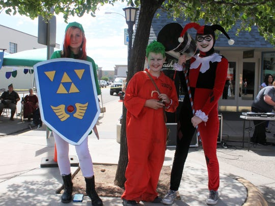 Many community members attended the second annual Alamo Aeon Adventures in costumes.