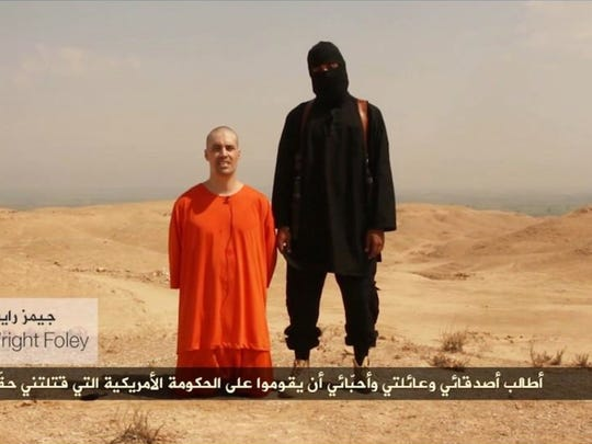 A video released by Islamic State militants showed