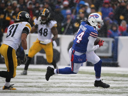Injuries sabotaged Sammy Watkins' third season in the NFL. He had only 28 catches for 430 yards in eight games.