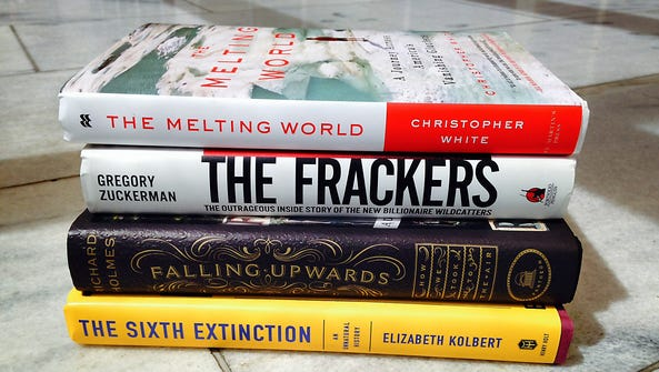 USA TODAY looks at new books that deal with environmental issues to mark the nation's 44th annual Earth Day on April 22, 2014.