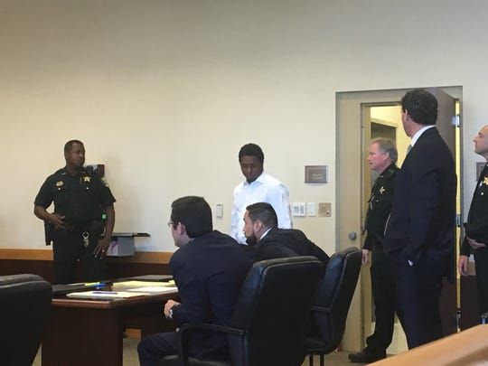 Jonathan Griffin-Brown, 24, a member of the Lake Boyz gang, was found guilty Thursday and sentenced to 10 years in prison on a  conspiracy charge.