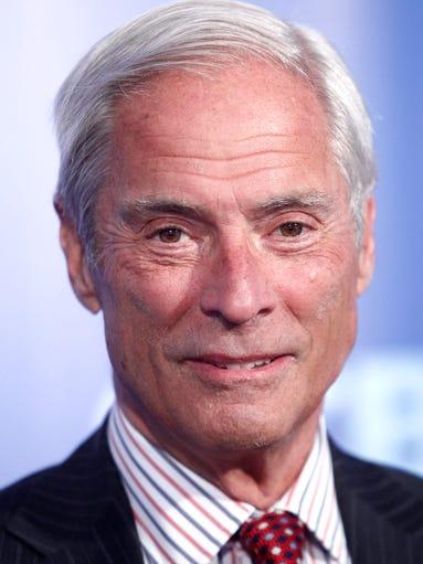 Bob Simon attends the CBS Upfront presentation in New