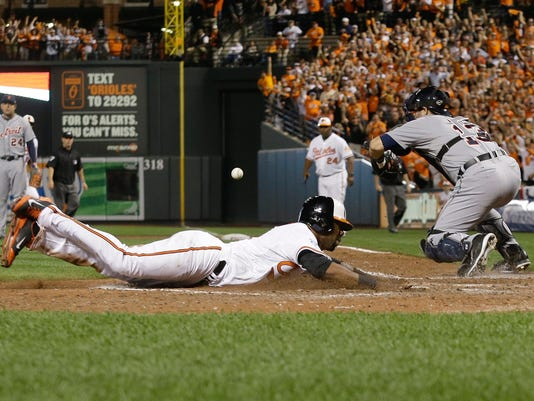 ALDS Tigers Orioles Baseball