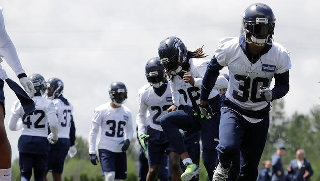Bradley McDougald (30) could start at either free safety or strong safety for the Seahawks, depending on the availability of Earl Thomas and the development of other players.