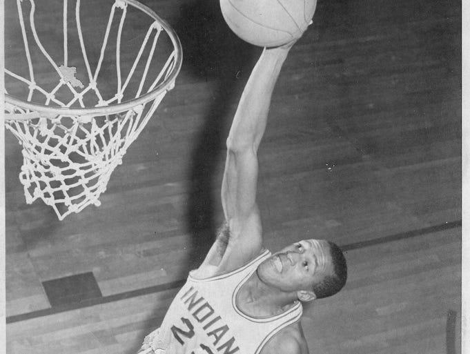 Bill Garrett, IU  1949-1950